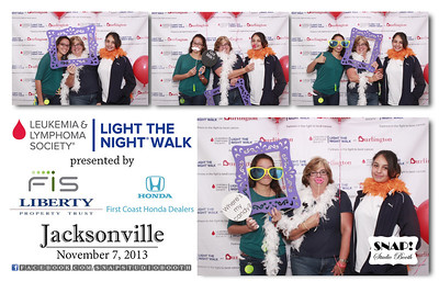 2013-11-07 Light The Night Walk - Jacksonville, FL
